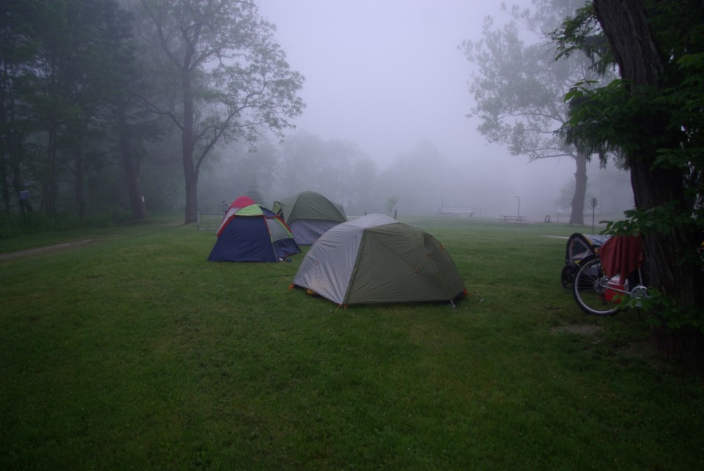 Misty Tents